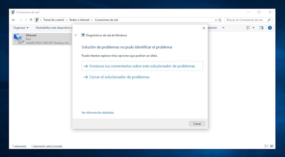 windows 10 sin internet despues de actualizar 1