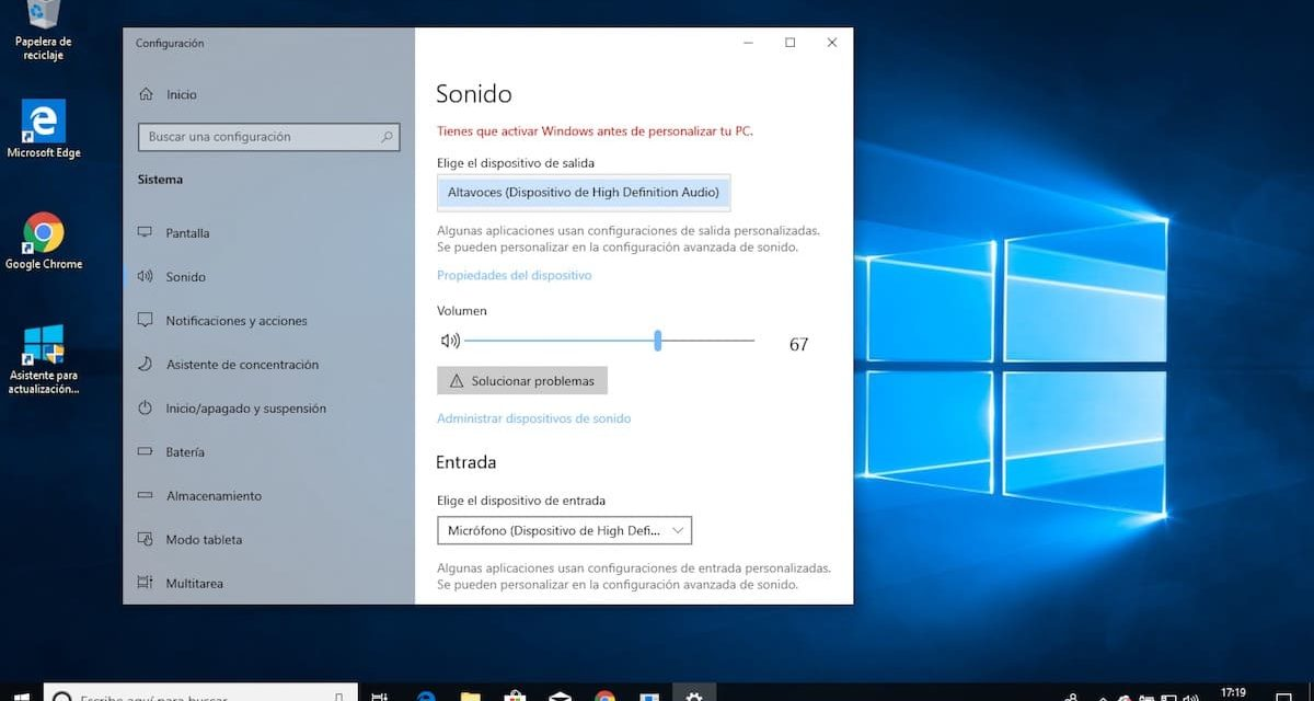 Windows 10 sin sonido de repente: 5 soluciones para arreglar el audio