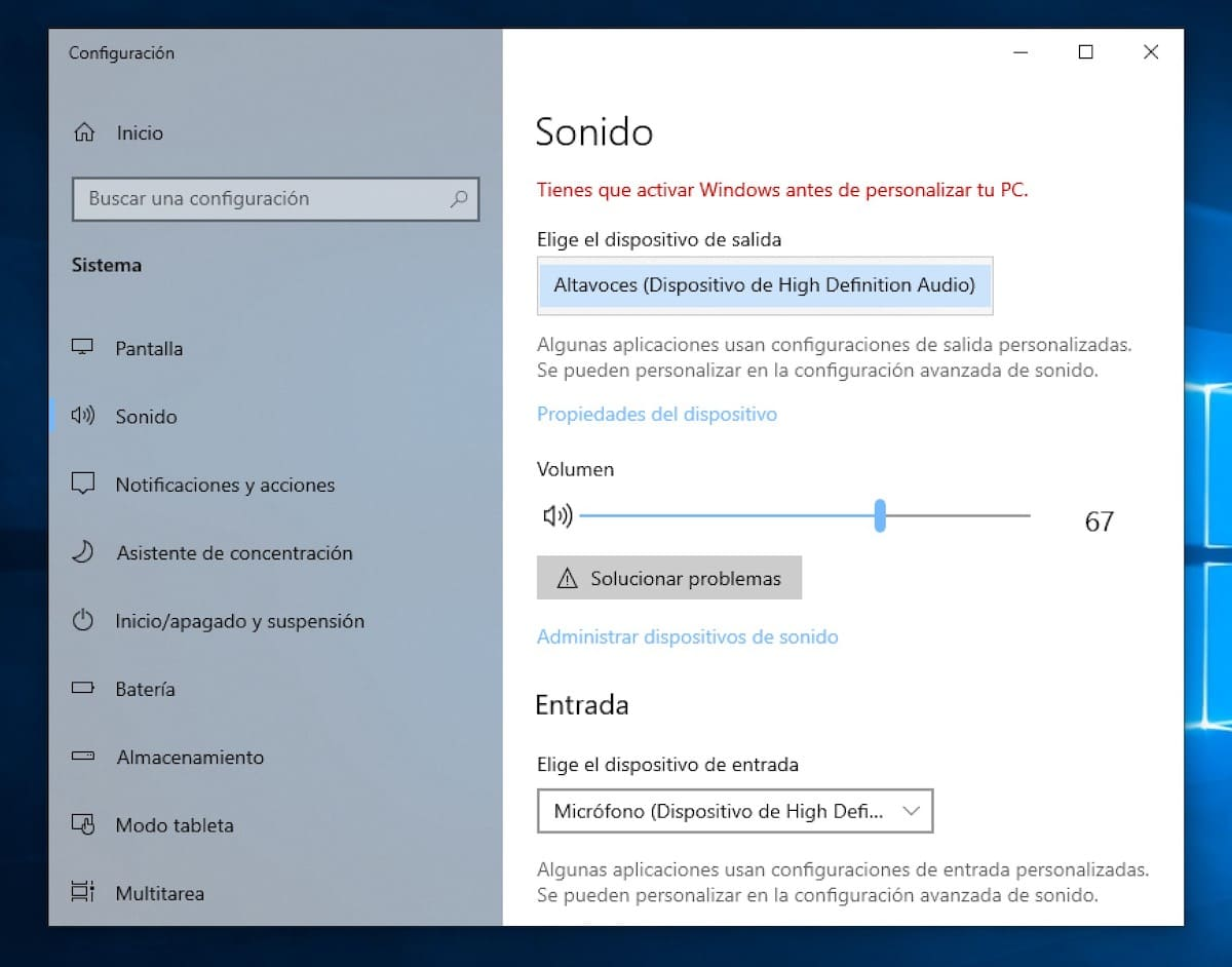 windows 10 sin sonido de repente 2