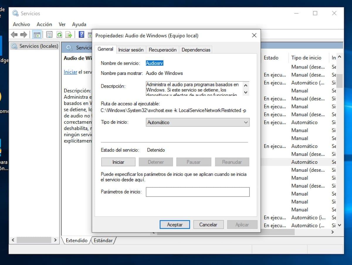 windows 10 sin sonido de repente 4