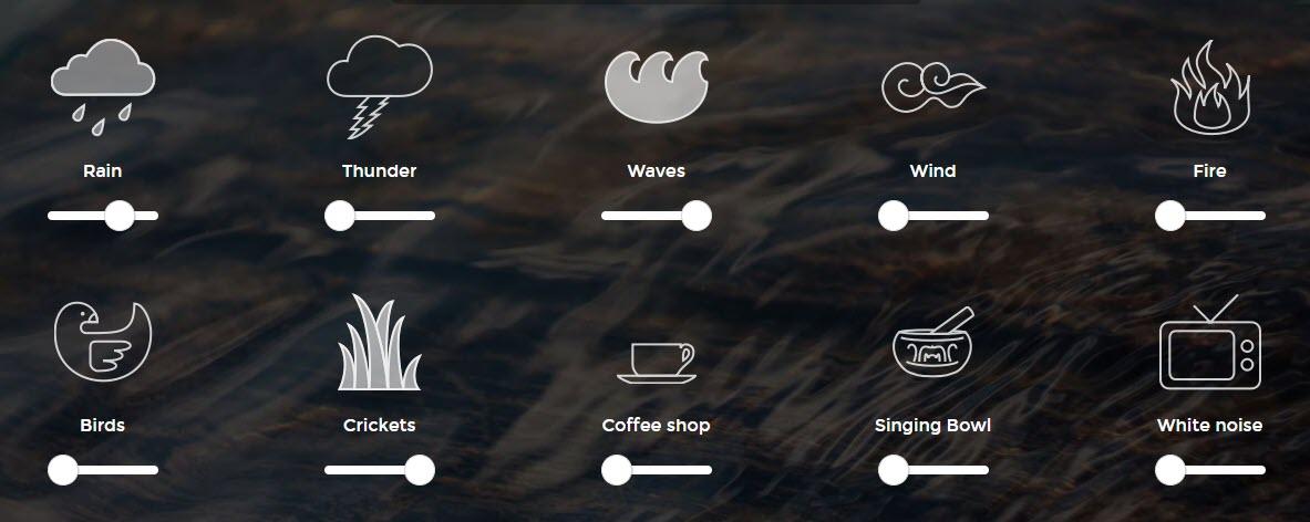 10 sitios web para escuchar sonidos relajantes 3