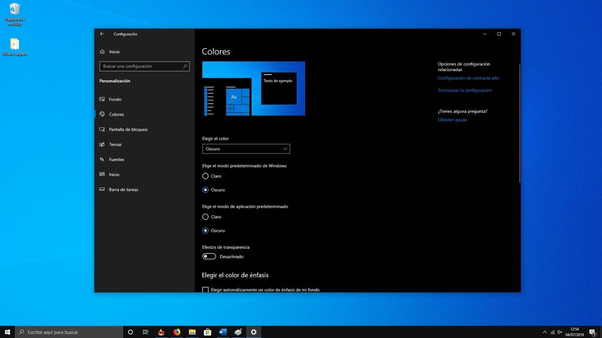 Cómo activar el nuevo tema claro de Windows 10 5