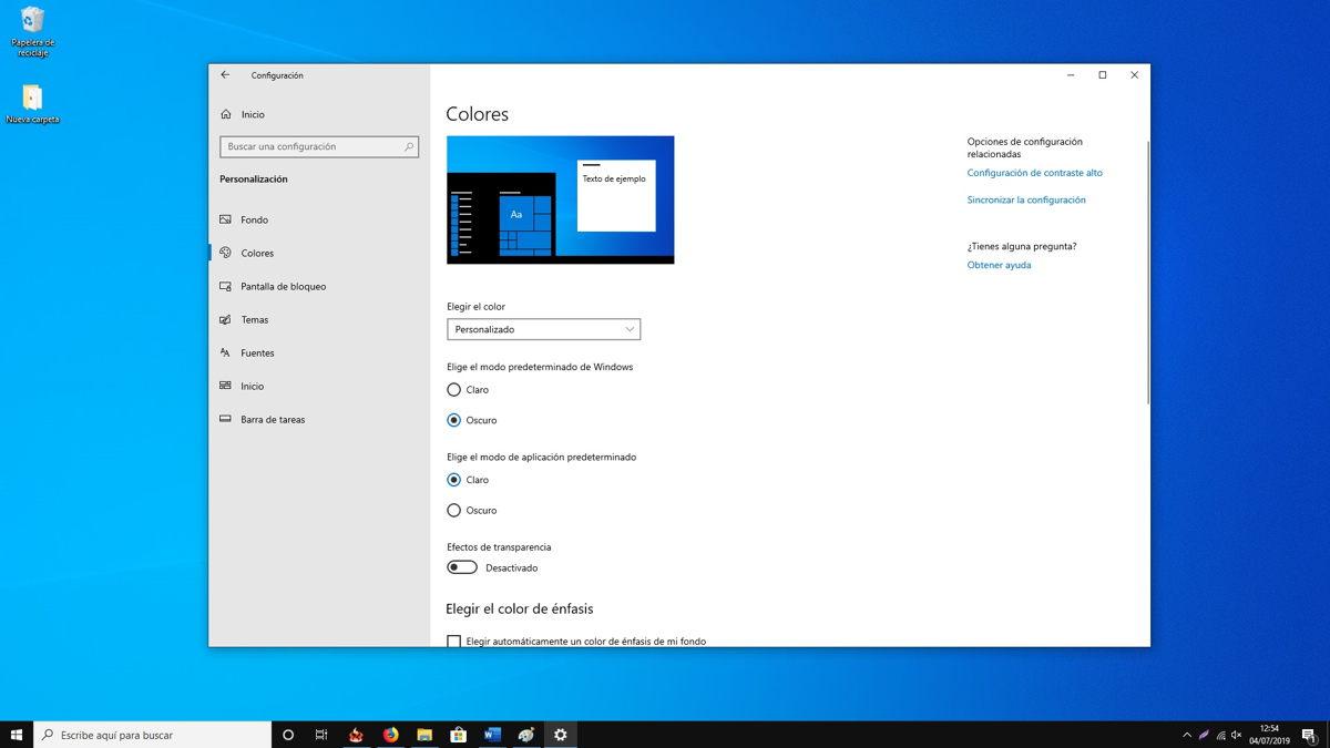 Cómo activar el nuevo tema claro de Windows 10 6