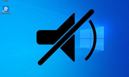 Cómo desactivar los sonidos de Windows 10