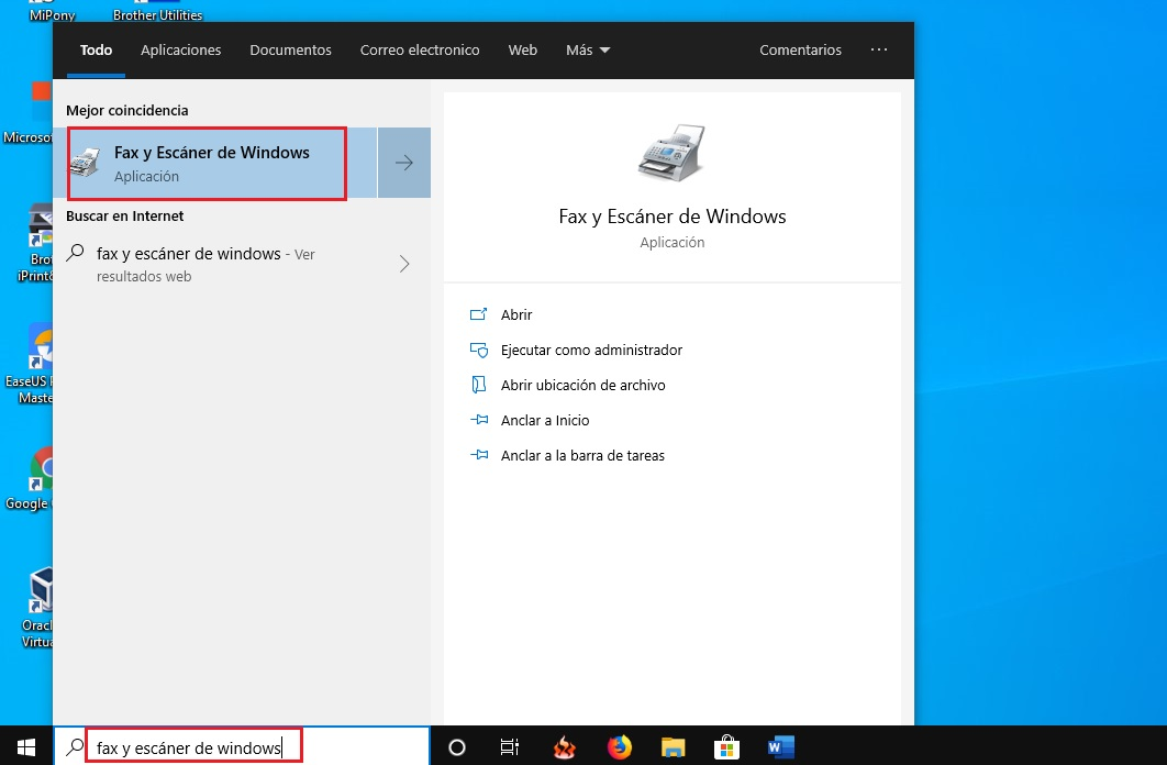 Como escanear tus documentos en Windows 10 sin utilizar ninguna aplicacion 1