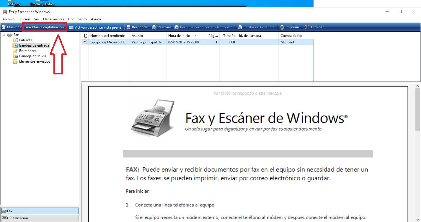 Como escanear tus documentos en Windows 10 sin utilizar ninguna aplicacion 2