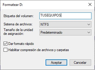 COmo formatear un USB protegido contra escritura en Windows 10 4