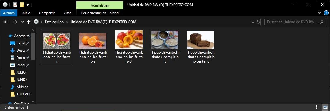 Como grabar un DVD en Windows 10 paso a paso 6