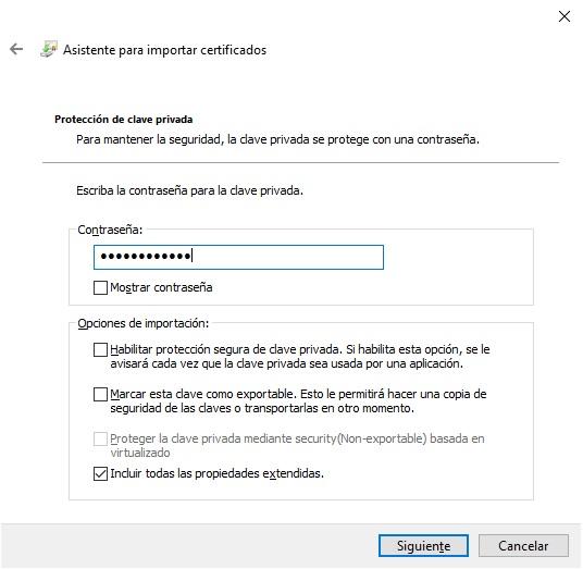 Como instalar certificados digitales en Windows 10 4
