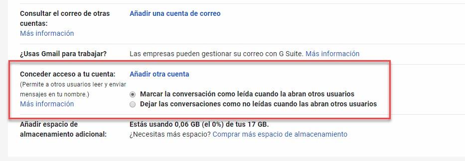 Cómo crear cuentas compartidas en Gmail 2