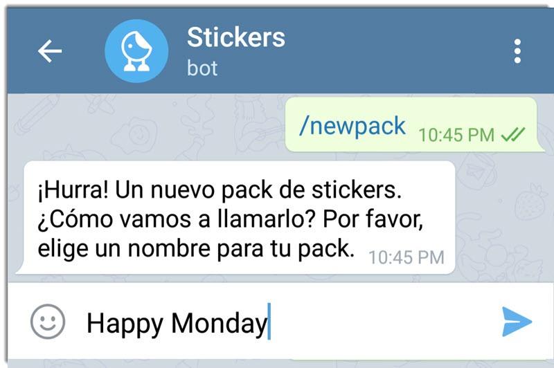 Cómo crear stickers para Telegram 3