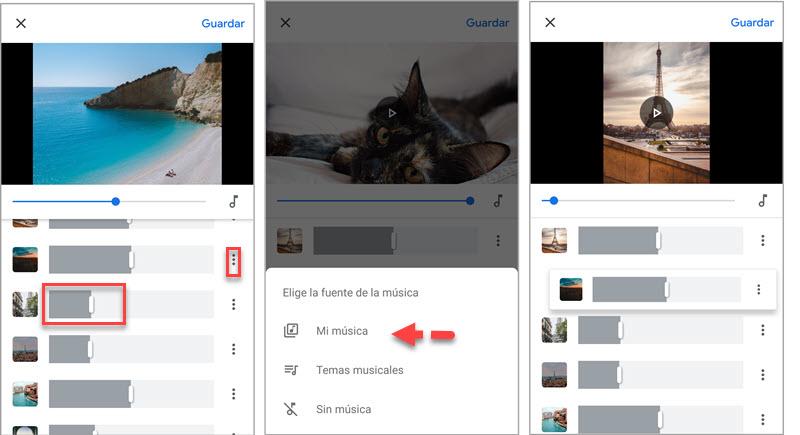 Cómo crear películas con Google Fotos 5