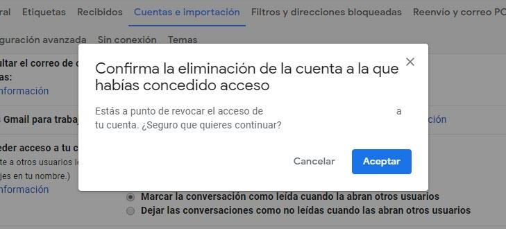 Cómo crear cuentas compartidas en Gmail 4