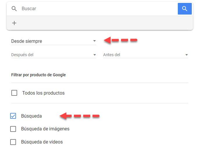 Cómo eliminar el historial de búsqueda de Google 4