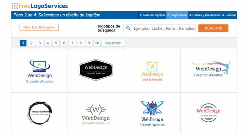 5 sitios gratuitos para crear logos 3