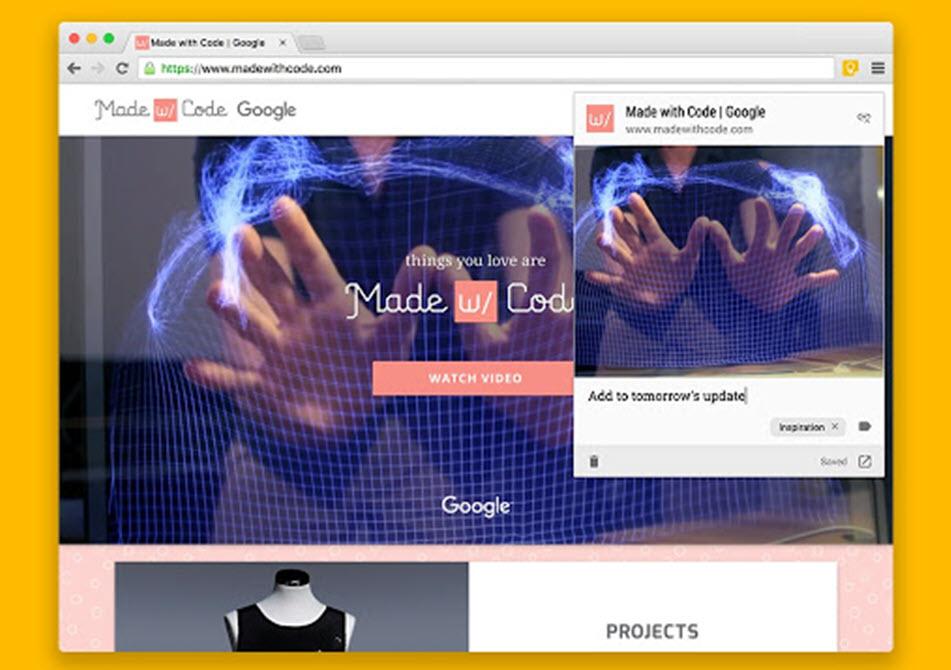 Cómo gestionar notas desde Google Chrome 2