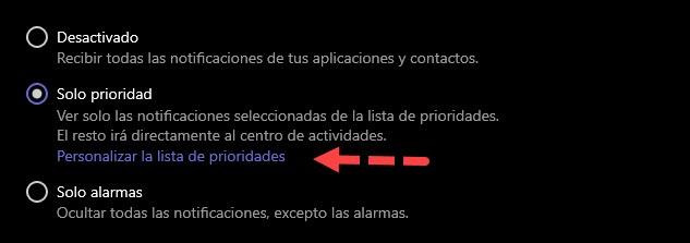 Cómo usar el asistente de concentración de Windows 10 4