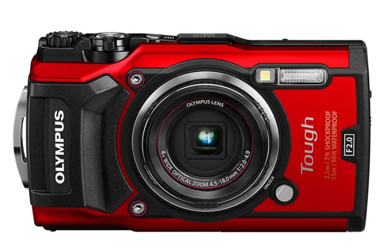 Olympus-TG-5 cámaras de fotos digitales acuáticas