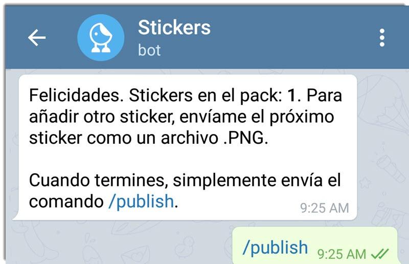Cómo crear stickers para Telegram 4