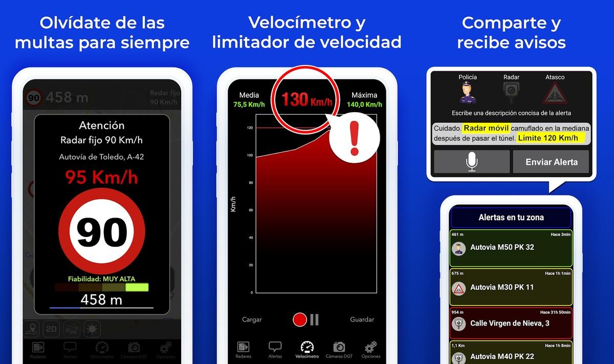 Radar Detector App >> Las 5 mejores apps de avisador de radares para Android de 2019