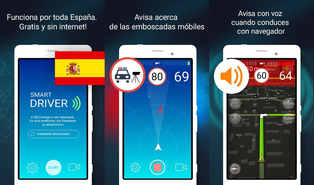 smart driver radares