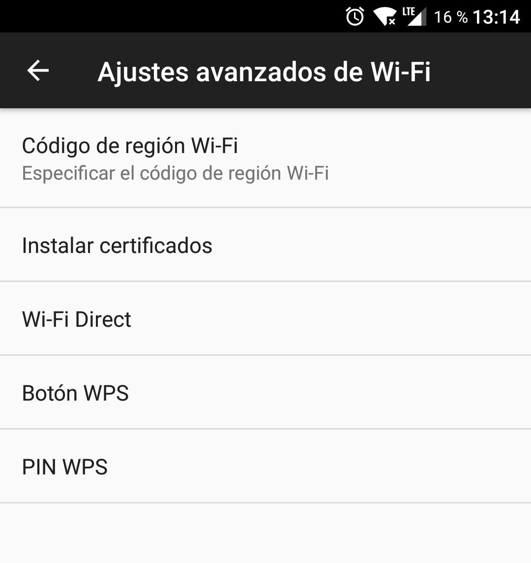 WPS en android