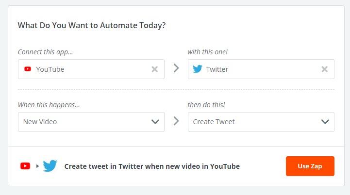 YouTube y Twitter