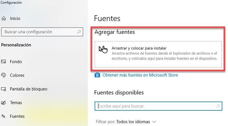 Cómo instalar nuevas fuentes en Windows 4