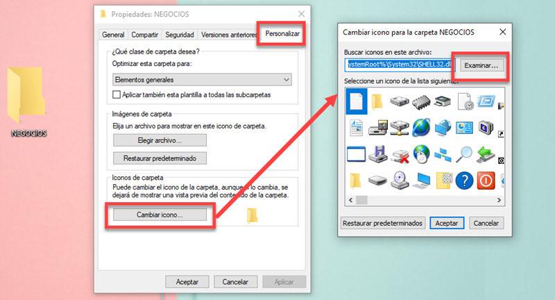 Cómo cambiar la apariencia de las carpetas en Windows 10 3