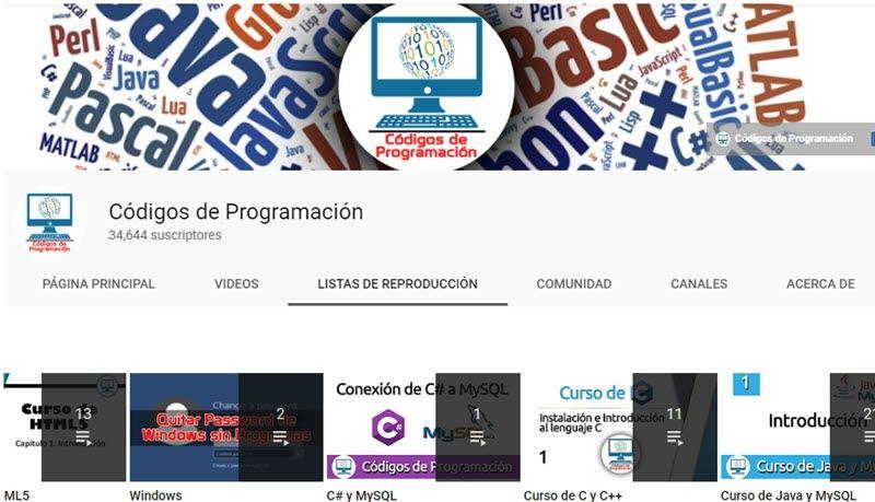 10 canales de YouTube para aprender programación 3