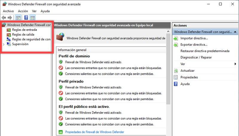 Cómo bloquear el acceso a Internet a un programa en Windows 10 4