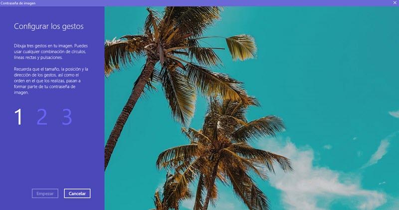 Cómo usar una contraseña de imagen en Windows 10 4