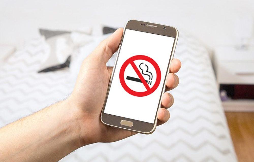 Cómo dejar de fumar gracias a tu móvil