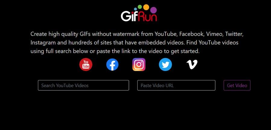 5 recursos para convertir un vídeo de YouTube en GIF 5