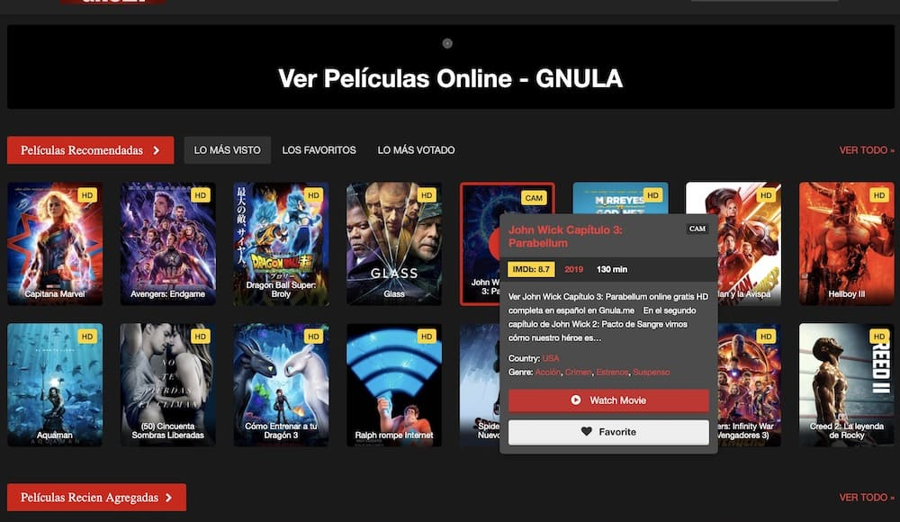 gnula no funciona alternativas