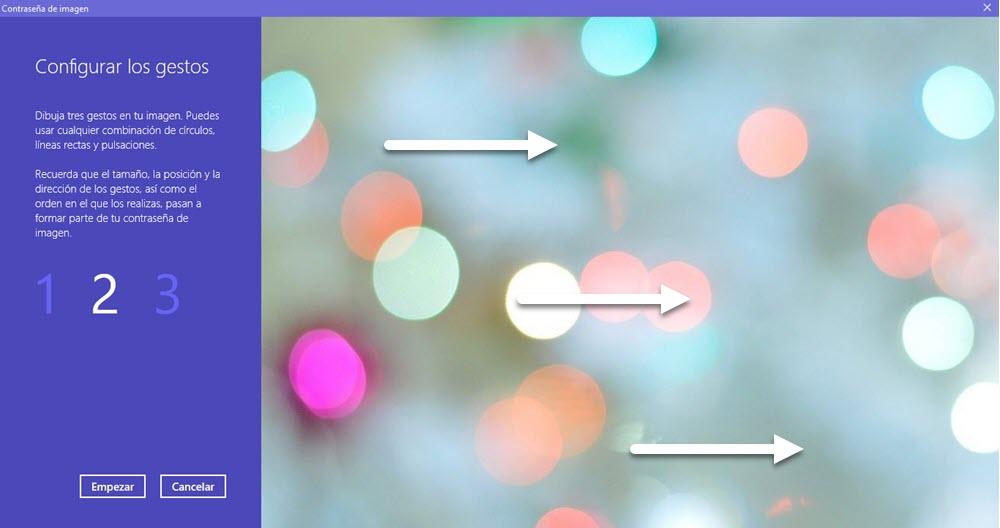 Cómo usar una contraseña de imagen en Windows 10