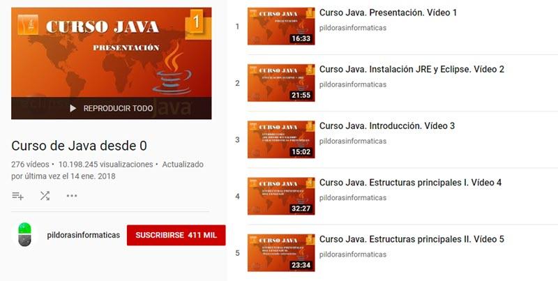 10 canales de YouTube para aprender programación 11