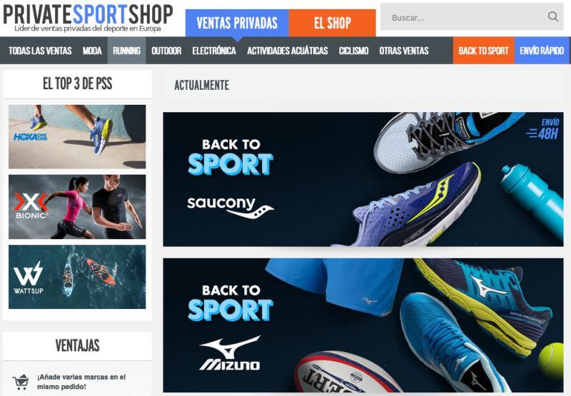 Privatesportshop tienda online
