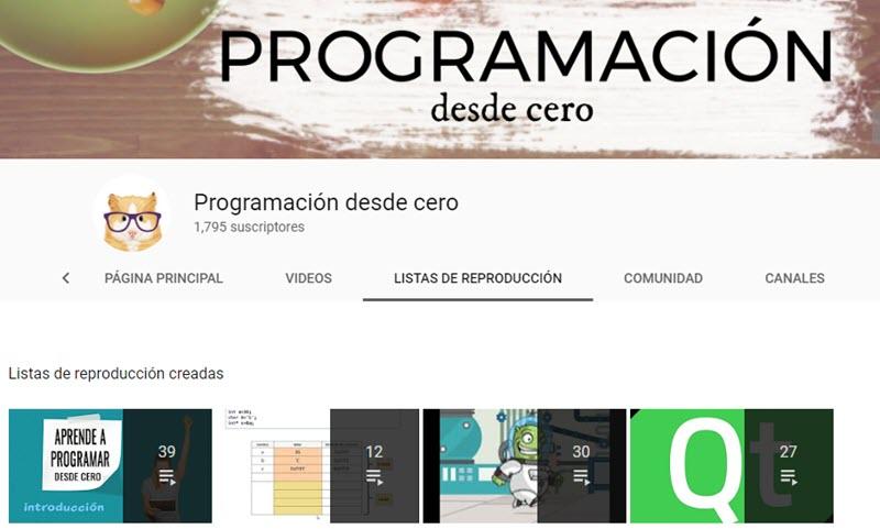 10 canales de YouTube para aprender programación 2