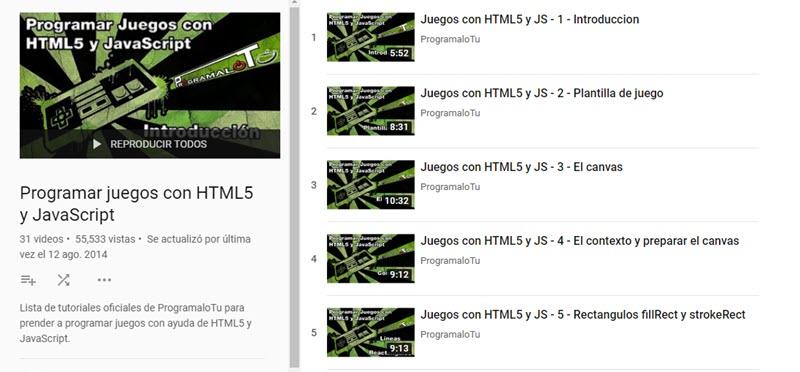 10 canales de YouTube para aprender programación 6