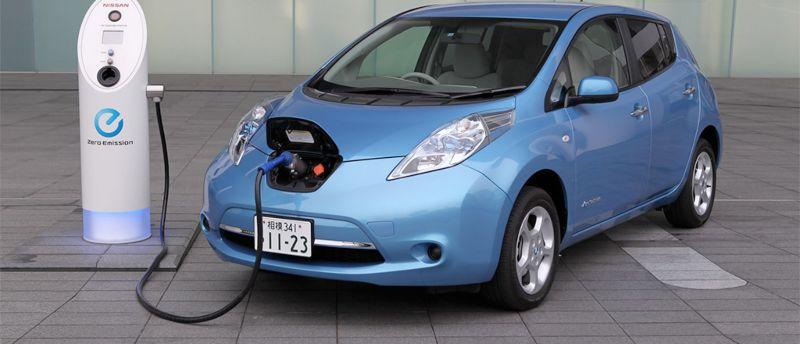 Punto de carga de coche eléctrico