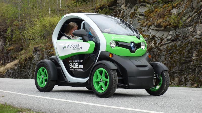 Ruido de coche eléctrico