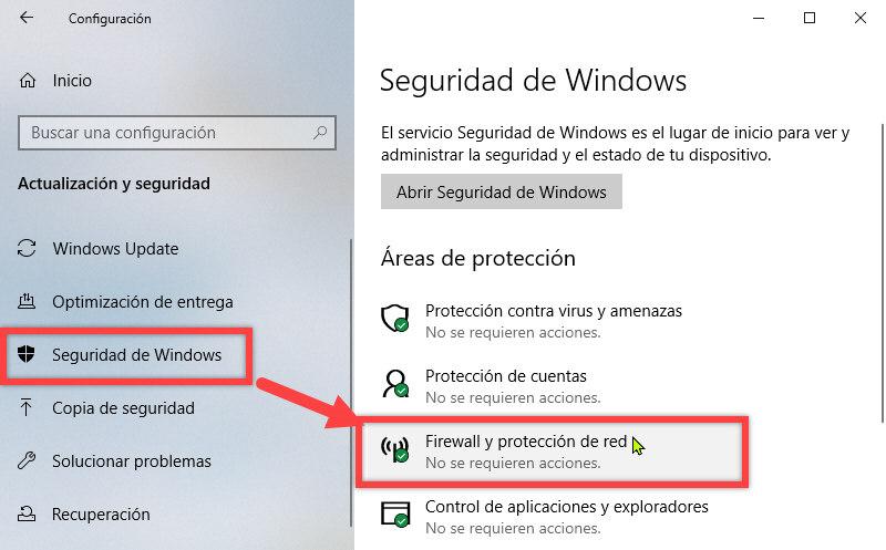 Cómo bloquear el acceso a Internet a un programa en Windows 10 3