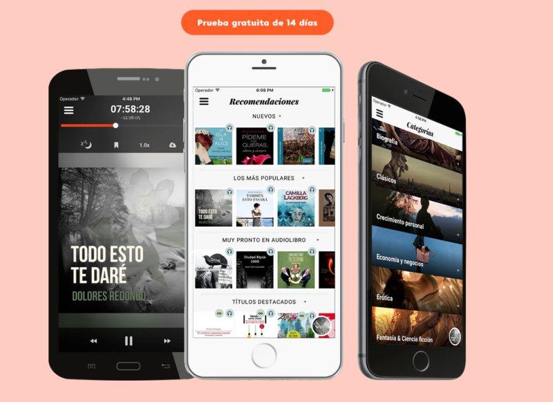 Storytel audiolibros