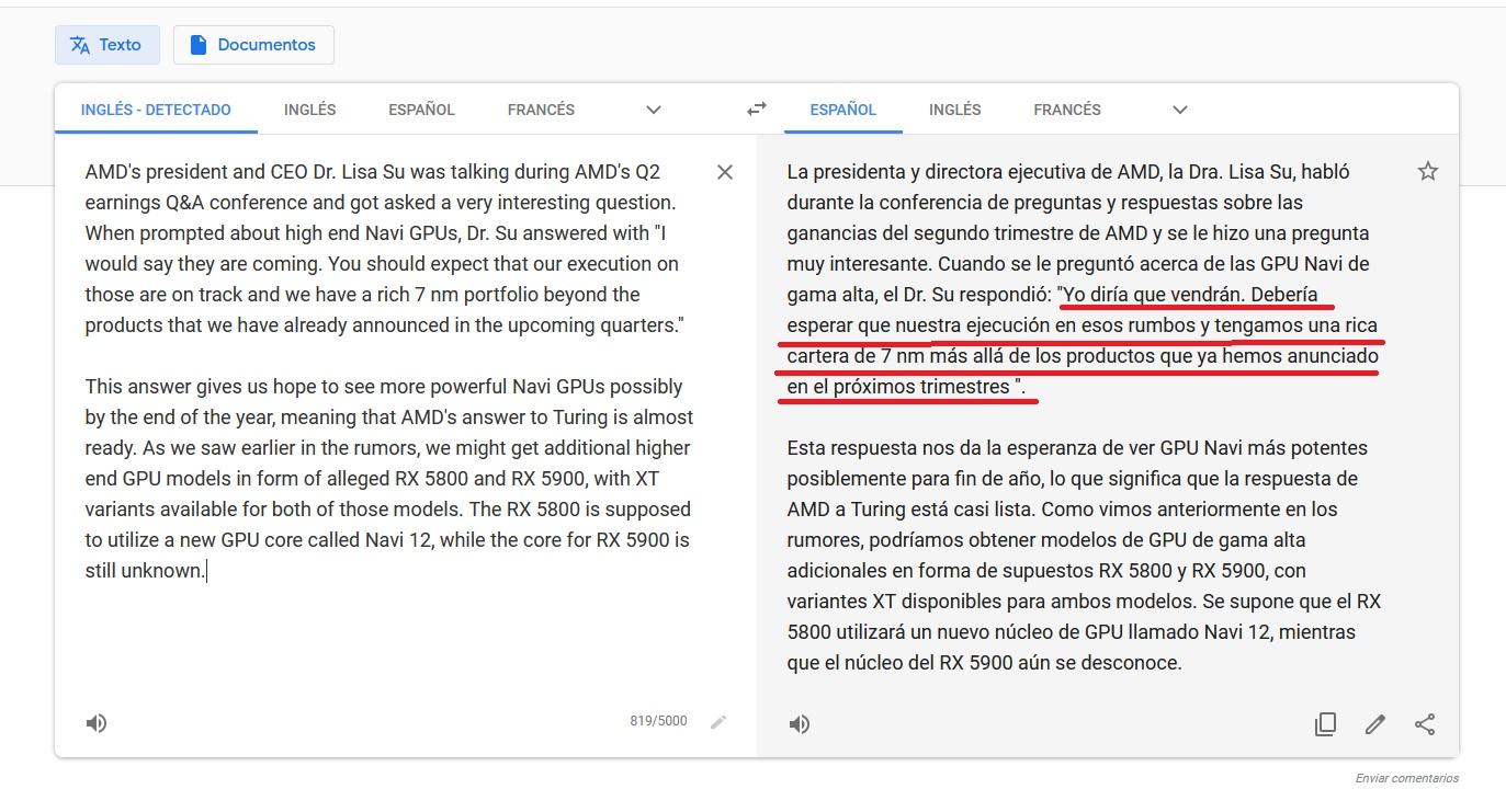 traductor google translate