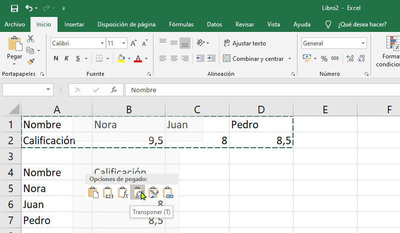 5 trucos avanzados en Excel 10