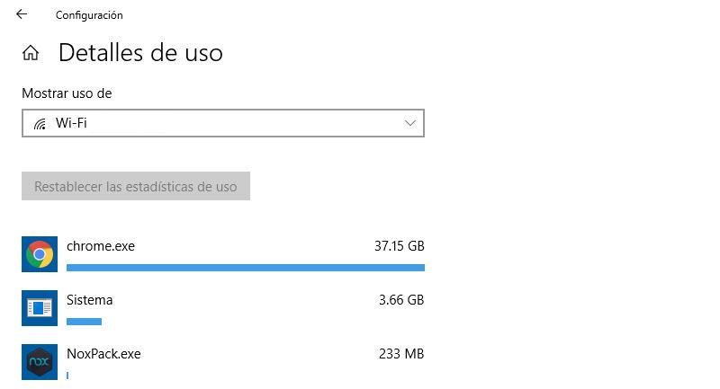Cómo controlar el consumo de datos en el PC 4