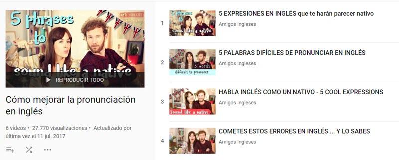 10 chaînes YouTube pour apprendre l'anglais 6