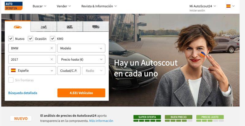 Autoscout24 coches de segunda mano