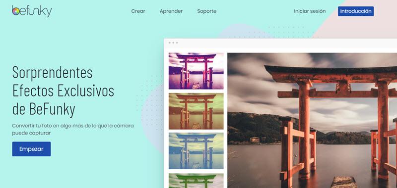 5 herramientas web para aplicar filtros a las fotografías 2
